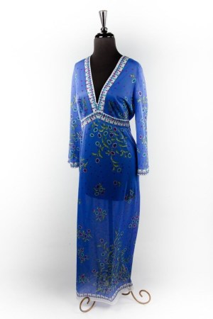 Vintage Women's Emilio Pucci For Fomfit Rogers Night Gown  Saks Fifth Avenue M
