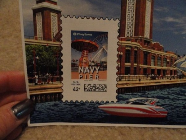 Ebay Live! 2008 Chicago Il Pitney Bowes NAVY PIER 42 Cent Stamp Page Mint