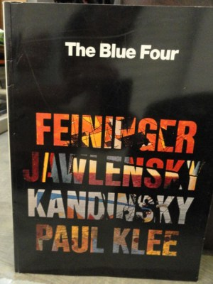 Vintage The Blue Four FEININGER JAWLENSKY KANDINSKY PAUL KLEE 78 Pages