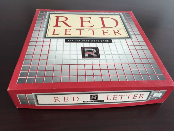 Vintage 1989 RED LETTER: The Ultimate Word Game The Games Gang No 290