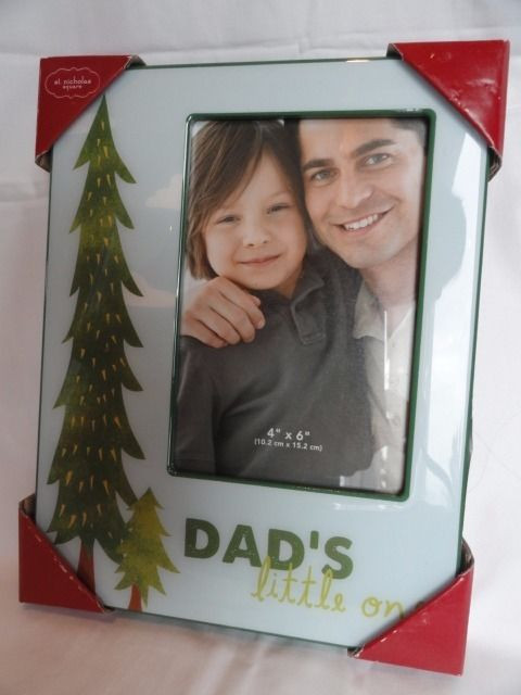 christmas dad s little one picture frame 4 x 6 pine tree kohl s