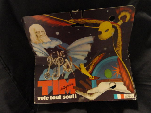 Vintage 1970's Original De Ruymbeke French Tim Flapping Bird Ornithopter in Box