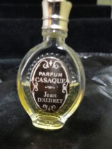 "Vintage Casaque Miniature Parfum by Jean D'Albret 2""  Tall 1960's Excellent Cond"