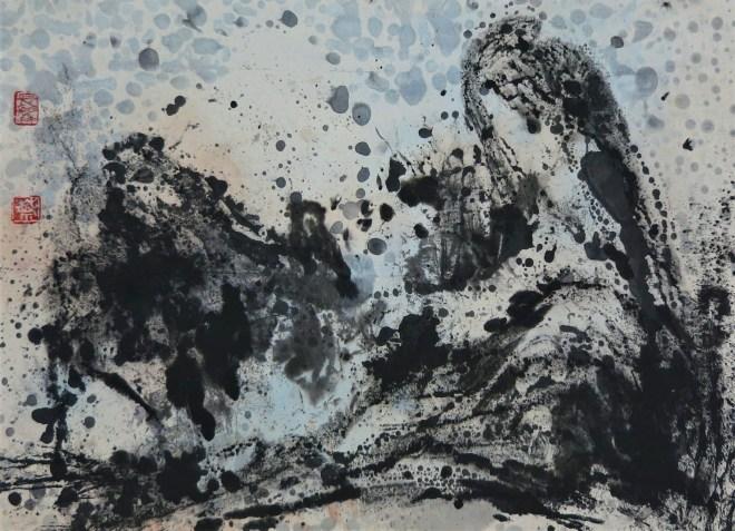 moonlit landscape by friedrich zettl