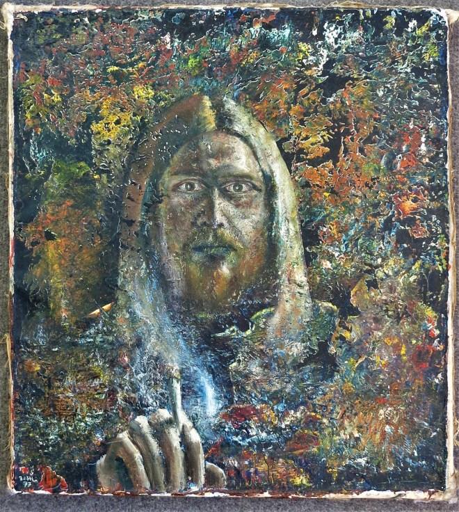 self portrait oils on canvas 1977