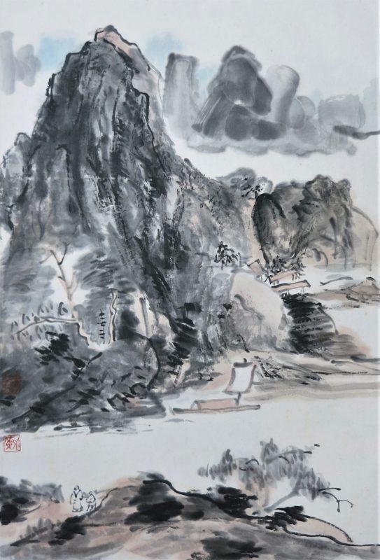 painting after Huang Binhong by friedrich zettl