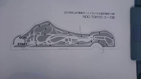 関東地区戦2018コース図
