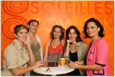 Les fondatrices de Soleilles Cowork