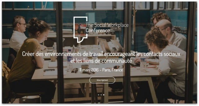 Social workplace conference