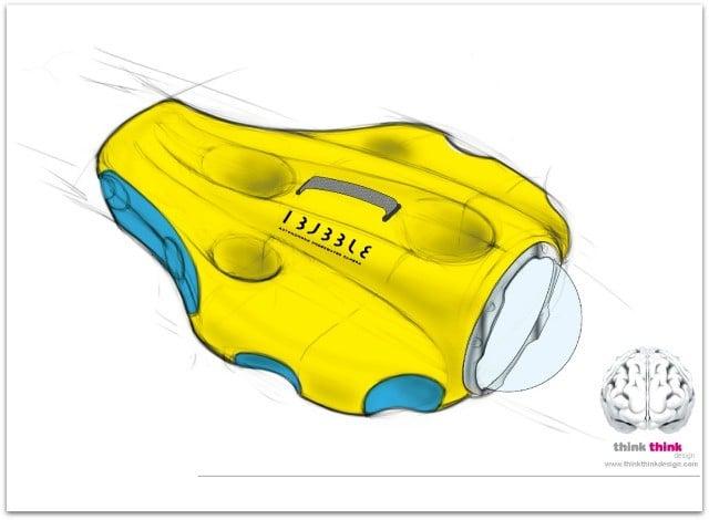 Camera sous-marine iBubble par Sogilis
