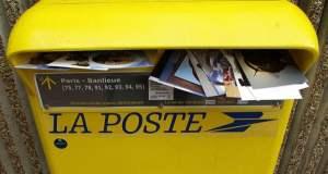 Boîte aux lettres de la Poste