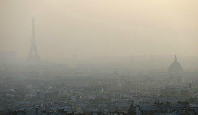 Pollution sur Paris