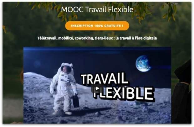 Mooc et Spoc sur le travail flexible
