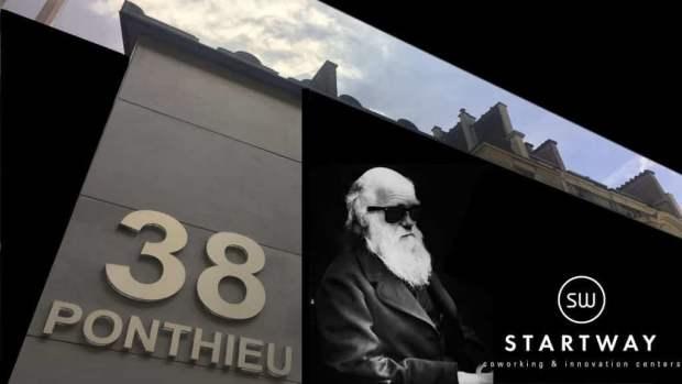 Espace de coworking de Startway à Paris 8e