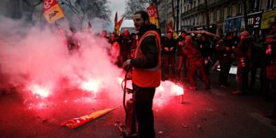 Grèves et télétravail
