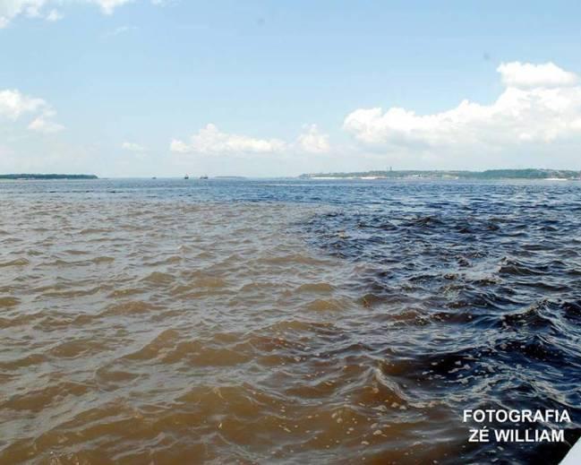 Rio Negro e Solimões, Feito Rico e Pobre, não se Misturam