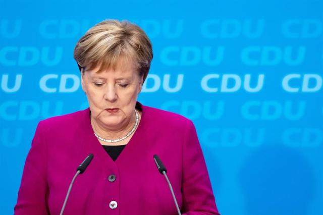 Angela Merkel, chanceler alemã Foto: Hayoung Jeon/EFE