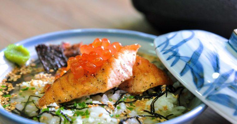 [影片]鮭魚親子茶泡飯|鮭茶漬け