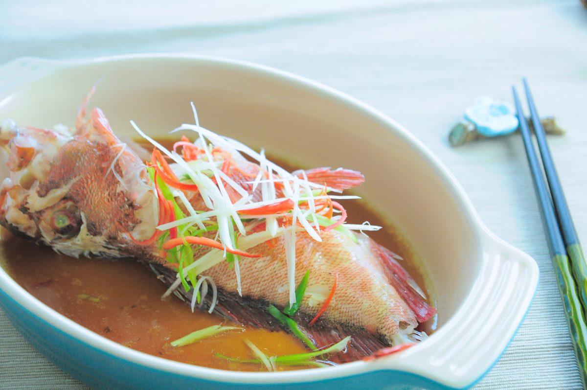 美味清蒸魚