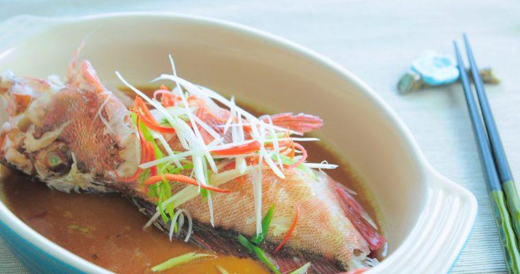 宴席菜的美味關鍵:清蒸魚