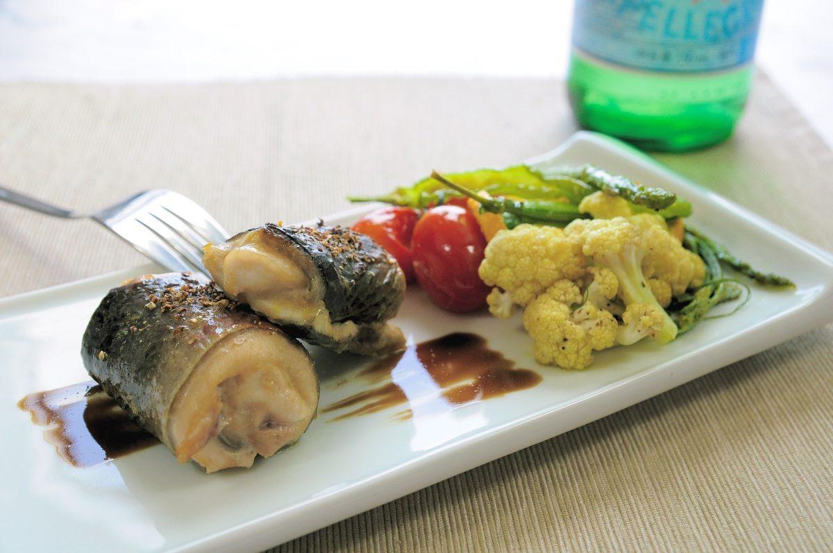 談市場虱目魚的採買訣竅:味噌虱目魚卷佐烤蔬菜