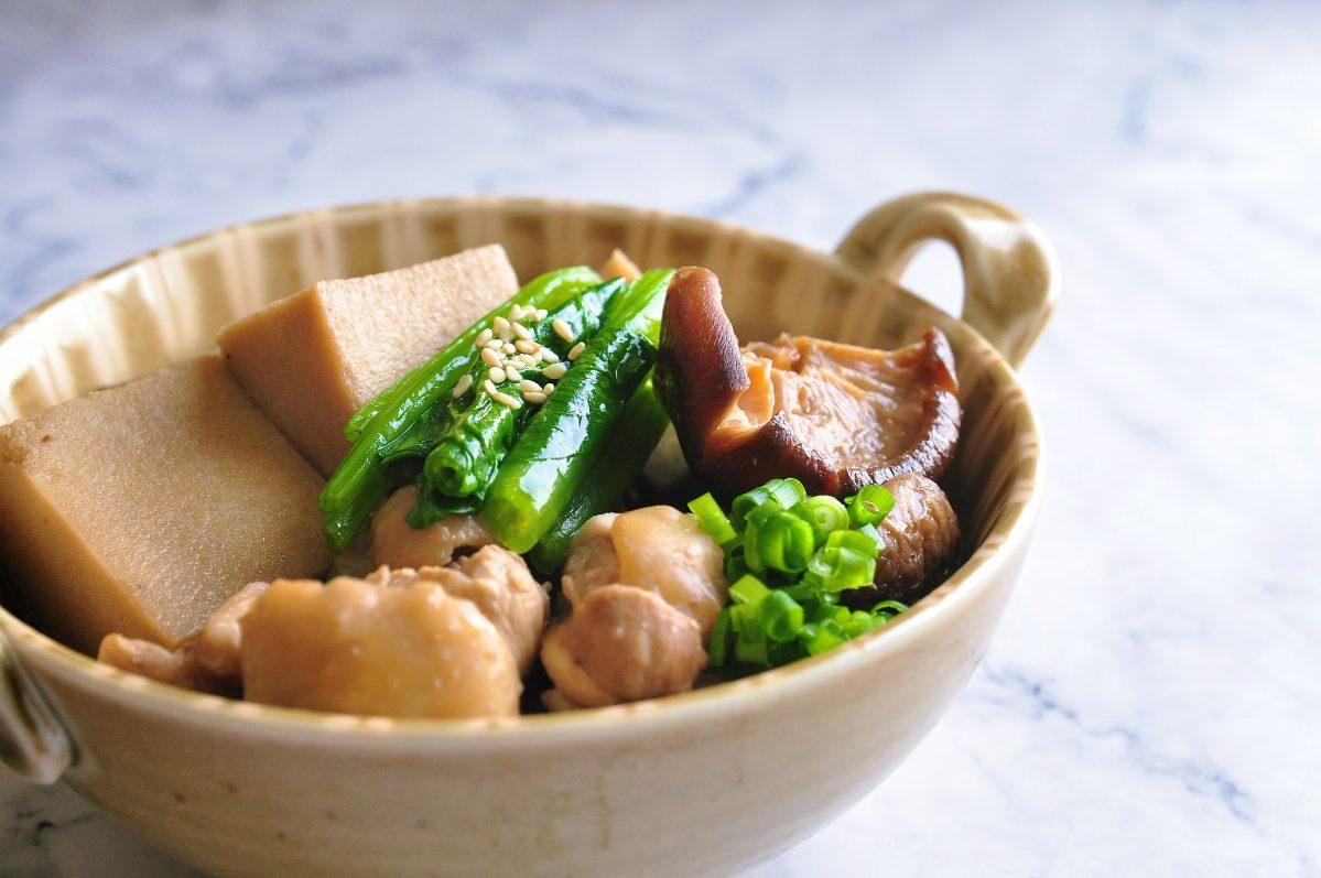 高野豆腐(凍豆腐)煮物