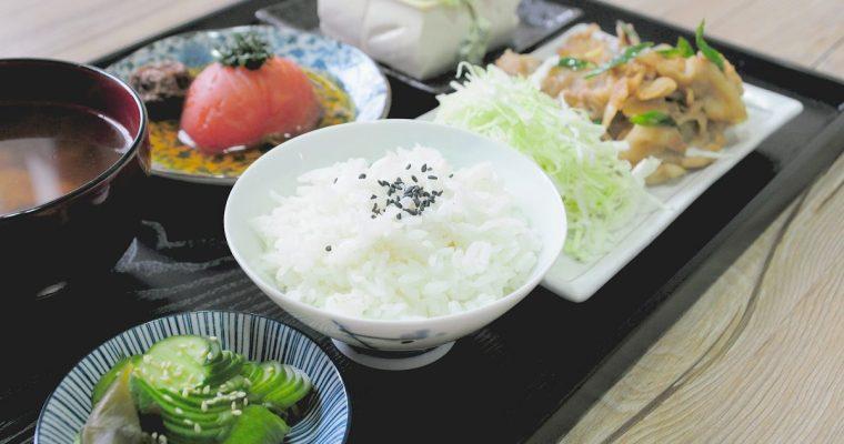 [影片]薑燒豬肉定食