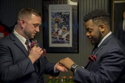 Traves's wedding