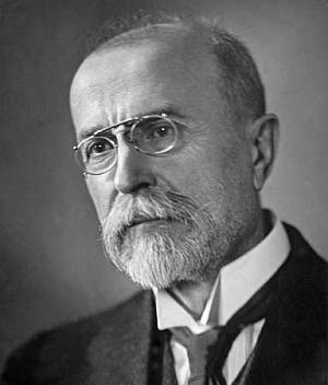Tomáš Masaryk, sociolog, filozof i političar, utemeljitelj i prvi predsjednik Čehoslovačke