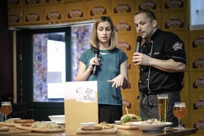 Pivana - novi jelovnik - Željka Klemenčić i chef Pivane Marko Jovanović