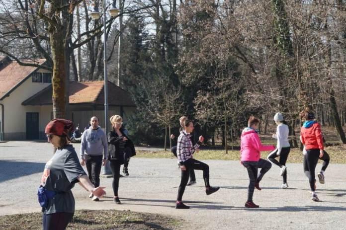 U Maksimiru održan prvi probni trening škole trčanja Trčaona