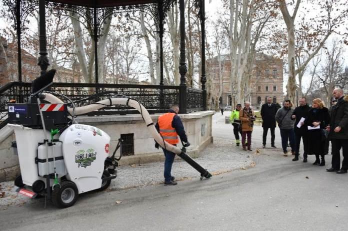 Na Zrinjevcu predstavljeni uređaji za čišćenje i prikupljanje sitnog otpada
