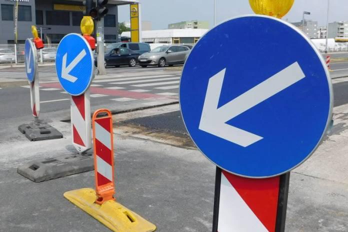 Zbog radova zatvaraju se još dva križanja, promet se odvija alternativnim pravcima