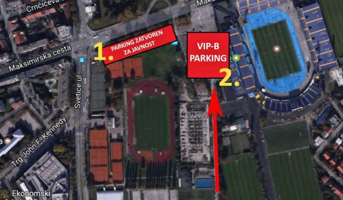 Posebna regulacija prometa zbog utakmice Dinamo-Atalanta