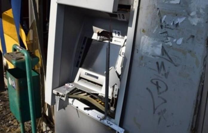 Bankomat uništen eksplozijom plina
