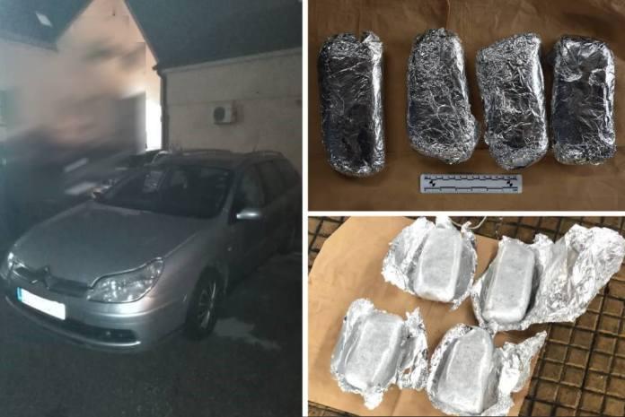 MAŠA U AKCIJI: Pogledajte kako je policijski pas u parkiranom Citroenu otkrio 2,2 kg heroina
