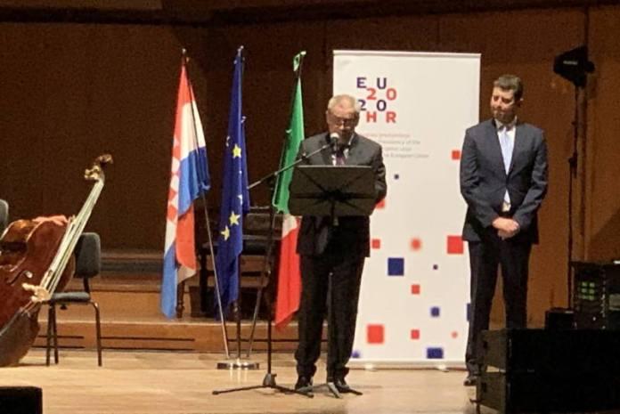 Koncertom Zagrebačke filharmonije u Rimu obilježen početak hrvatskog predsjedavanja Vijećem EU