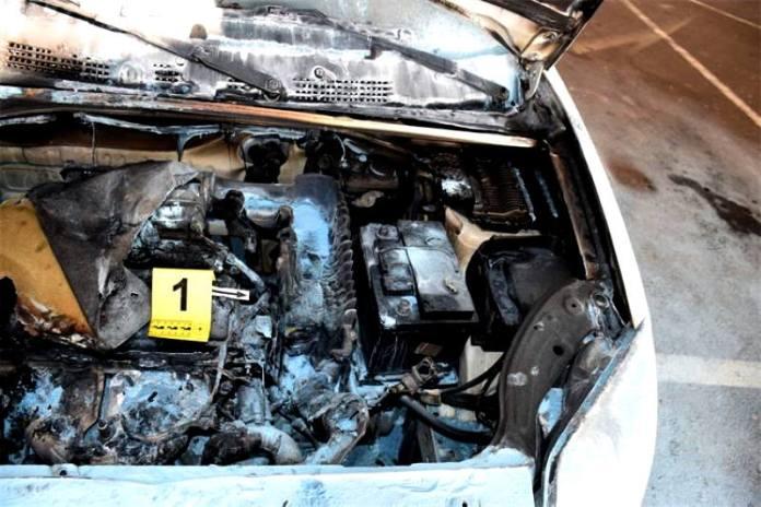 Uhićen muškarac (44) koji je zapalio skupocjeni Mercedes na Laništu, imao je i pomagača