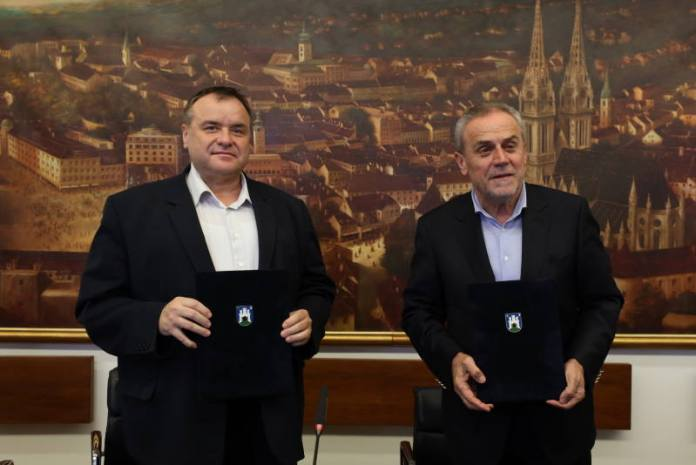Gradonačelnici Zagreba i Čazme potpisali Povelju o suradnji i prijateljstvu dvaju gradova