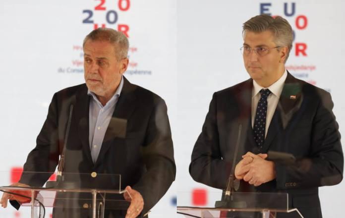 Plenković i Bandić razgovarali o sanaciji posljedica potresa, dogovorene tri ključne točke