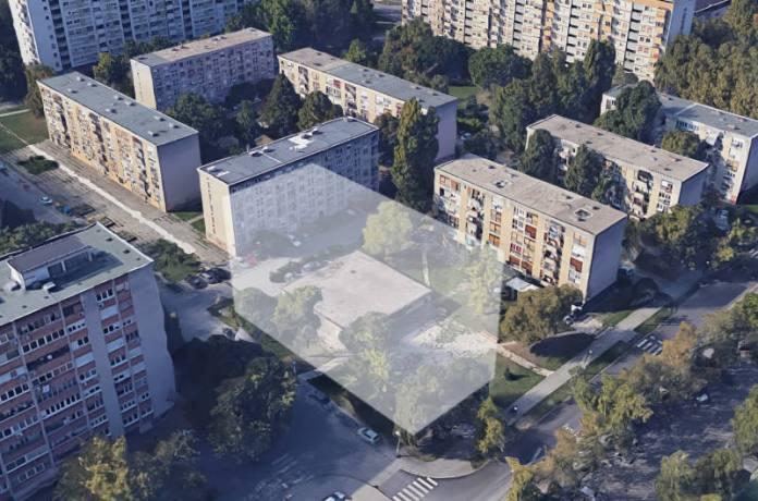 KNEŽIJA SE BUNI: Građani ne žele da se u njihovom parku gradi osmerokatnica