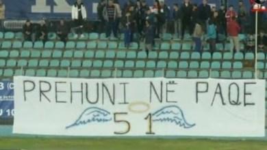 """Photo of """"Prehuni në paqe"""", mesazhi prekës i tifozëve të Teutës për viktimat e tërmetit të 26 nëntorit"""