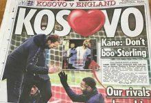 """Photo of Gazeta """"Sun Sport"""": Kosova po e pret jashtëzakonisht mirë Anglinë"""