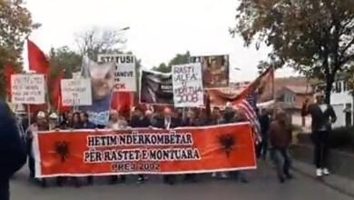 """Photo of VIDEO/ Jehon Shkupi """"UÇK, UÇK"""", shqiptarët po protestojnë për drejtësi!"""