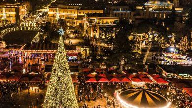 """Photo of Agjencia franceze e lajmeve AFP përzgjedh sheshin """"Skënderbej"""" si dekorimin më të bukur për Krishtlindje"""