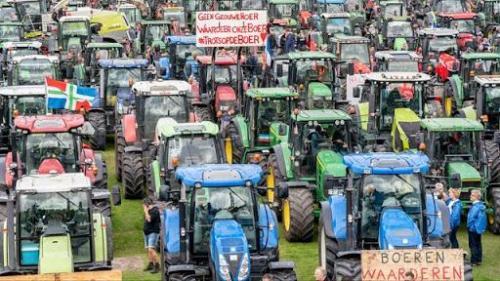 Dutch Farmers In Mass Revolt Against Green Fascism
