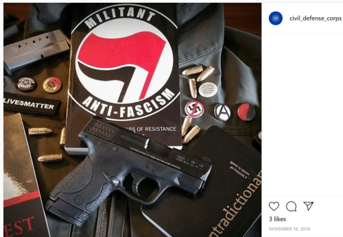 Militant Antifa Group Urges Deadly Violence Against Feds