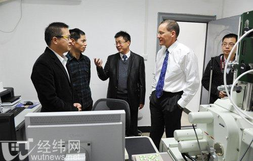 Dr. Charles Lieber at Wuhan Institute of Technology in 2011