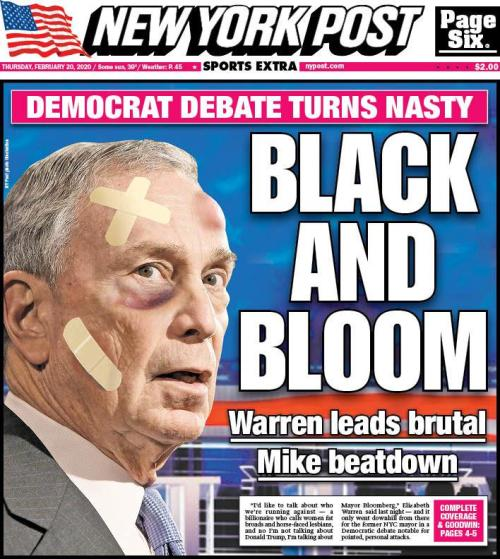 """If This Doesn't Knock Him Out Of The Race, Nothing Will"" - Bloomberg Battered By Left & Right In Debate Disaster"