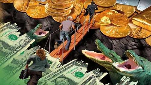 """Peter Schiff: """"Gold Is Going To Be Money Again"""" Because Of Gigantic Global Debt Time Bomb"""
